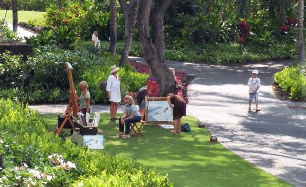 Calley O'Neill at Hualalai, Four Seasons