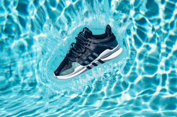 Parley and Adidas and ocean plastics